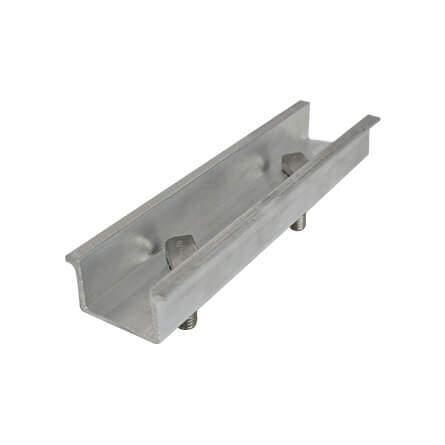 Emenda para trilho em alumínio GF2
